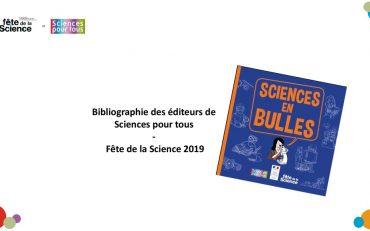 thumbnail of Bibliographie Sciences pour tous Fête de la science 2019 1