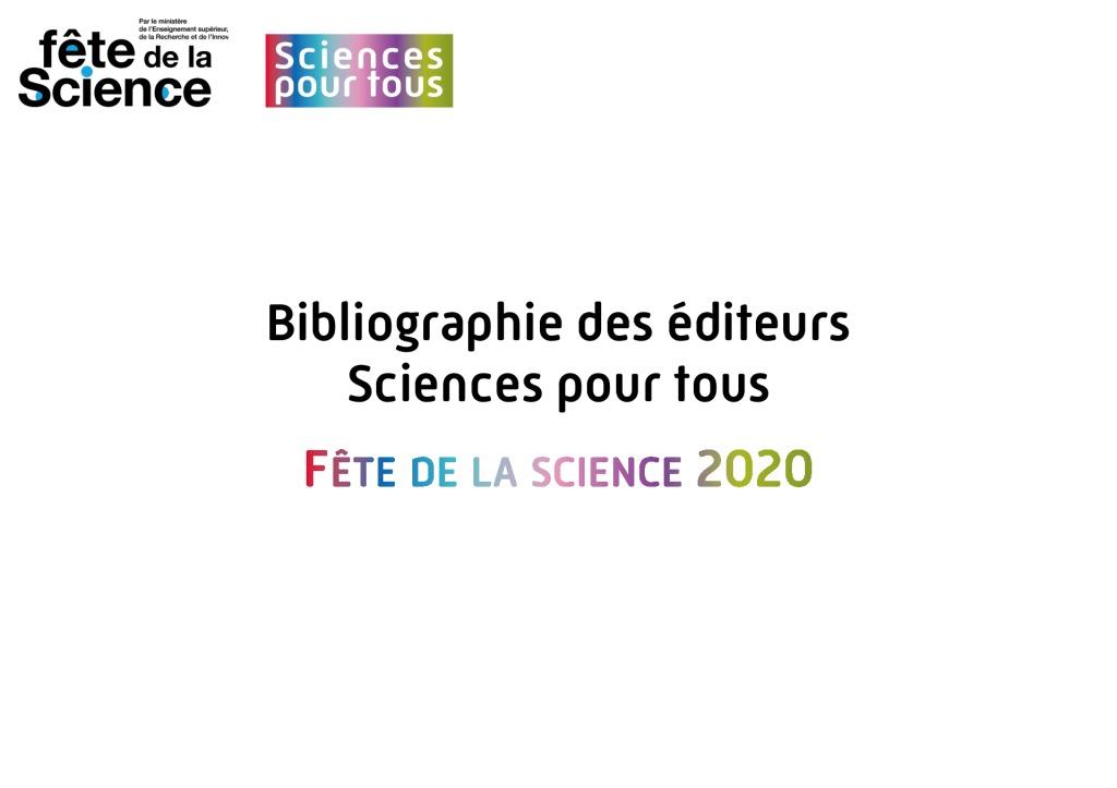 thumbnail of Bibliographie – Fête de la science 2020 1