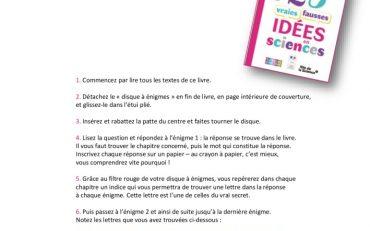 thumbnail of Le disque à énigmes FDS2018